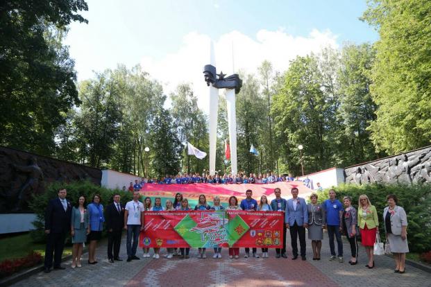 Встреча участников республиканского молодежного поезда «Беларусь. Моладзь. Натхненне»