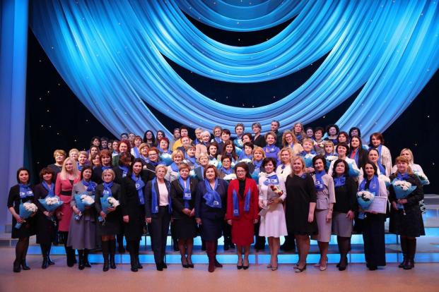 Избрание нового председателя Минского областного союза женщин
